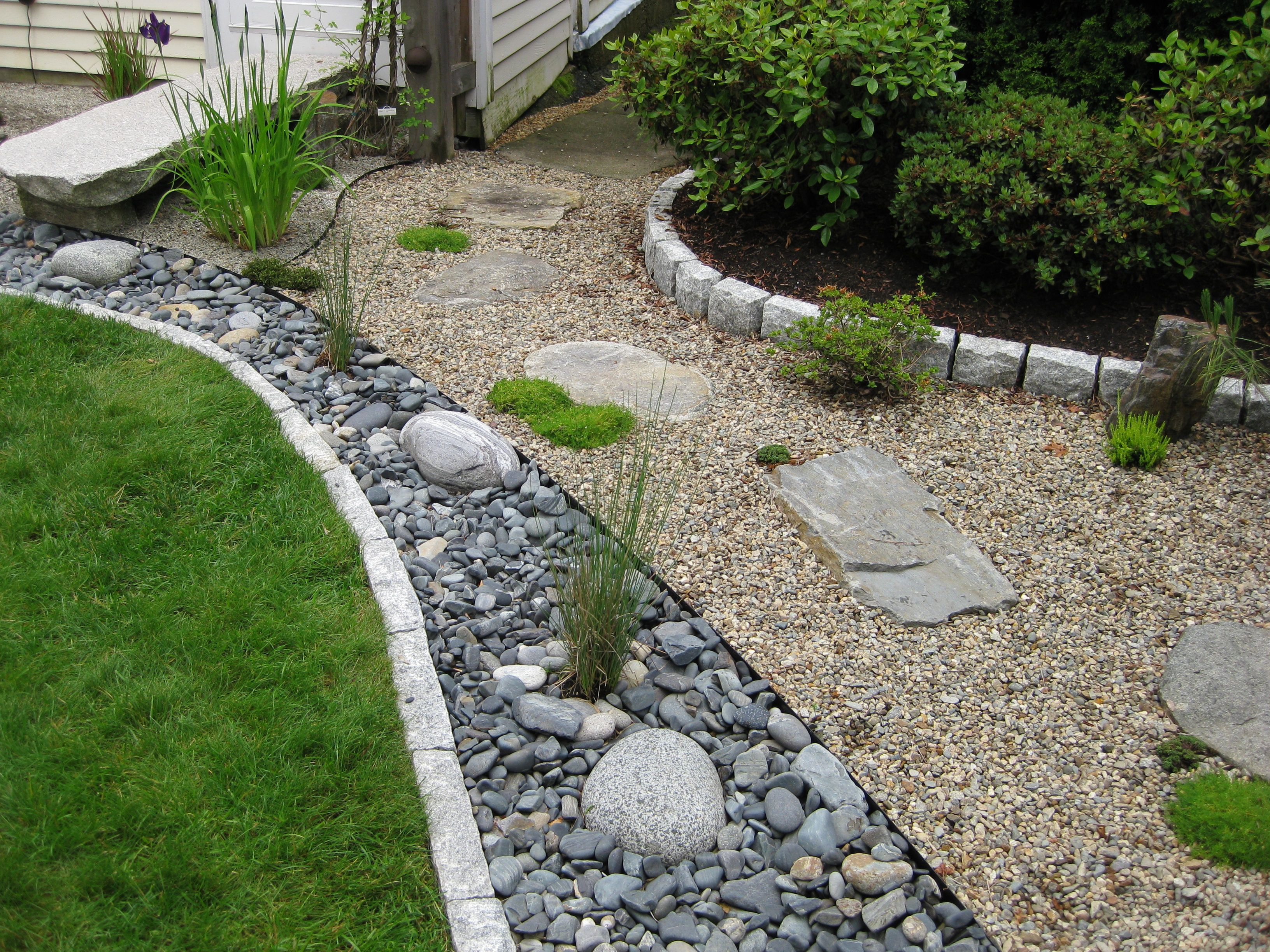 Image detail for dry creek bed dry creek bed for Landscaping tips