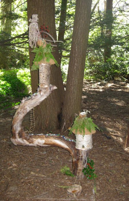 Limb Fairy House