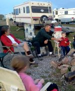 Special camping friends