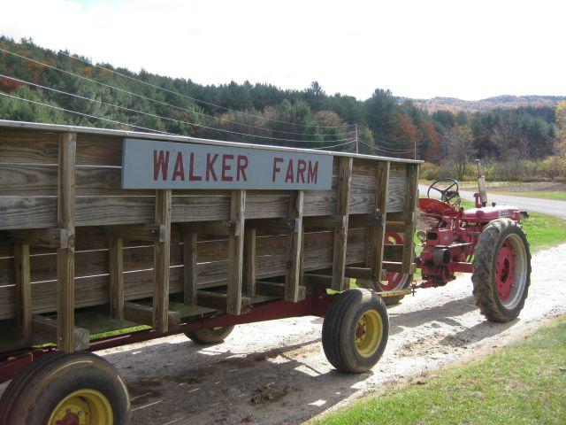 Farmall Tractor ride