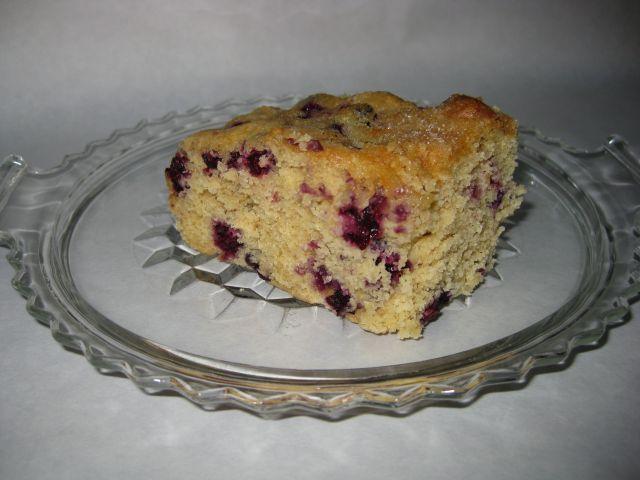 Slice of Slice of Buttermilk Blueberry Breakfast Cake
