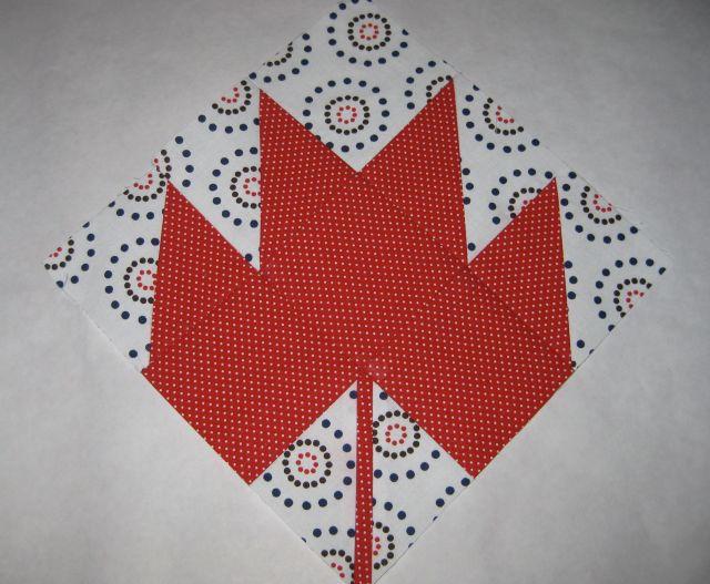 Maple Leaf Block