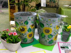 Painted Sap Buckets
