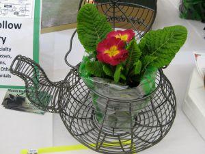 Cute wire teapot