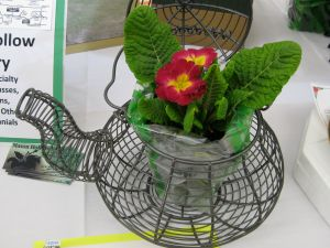 Cute wire teapot