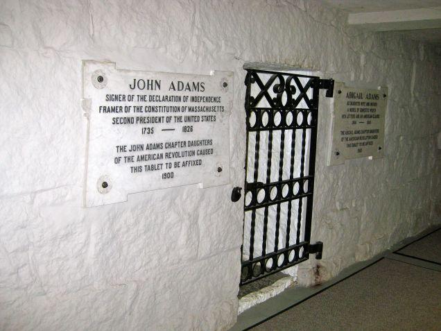 Crypt entrance