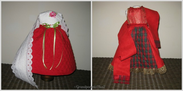 2 dress Collage