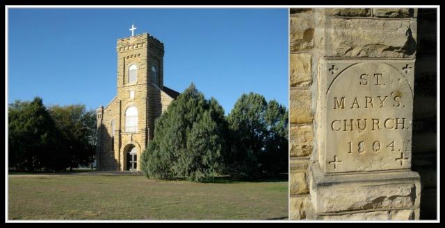 St. Mary's Church, Gorham, KS, 1894