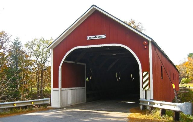 Cresson Covered Bridge 1859 on the Ashuelot River