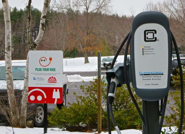 Electric Car Charger Station
