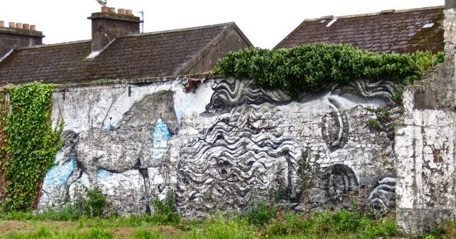 Ireland mural
