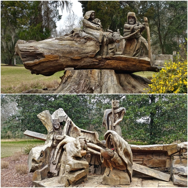 wood-carvings