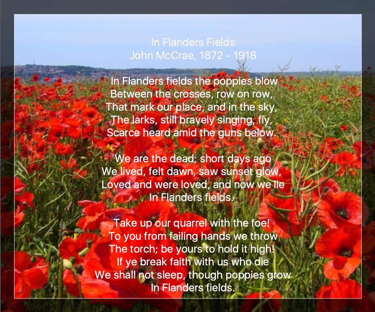 Veterans Day 2017 | NewEnglandGardenAndThread