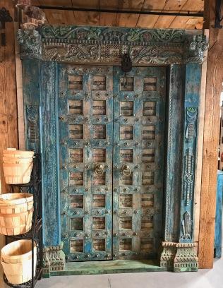 Medieval theme door to nowhere
