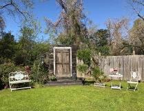 Door staged for weddings
