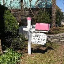 Matching pink mailbox