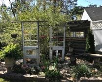 Doors as garden art