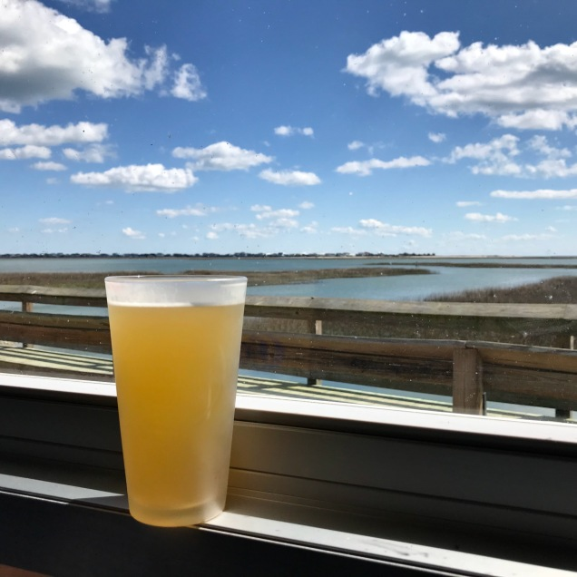 Blue Moon and the Inlet